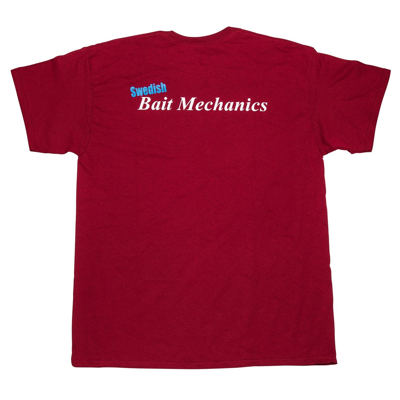 Tshirt - Naturel Rasberry Red - Back